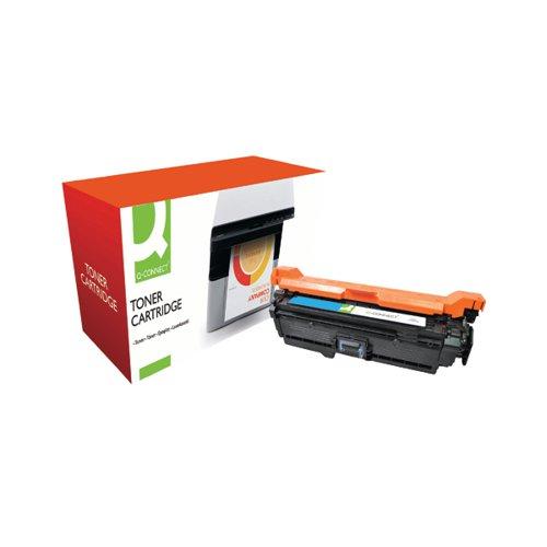 Q-Connect Compatible Solution HP 504A Cyan Laserjet Toner Cartridge CE251A