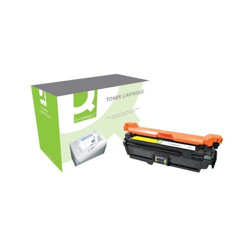 Q-Connect Compatible Solution HP 504A Yellow Laserjet Toner Cartridge CE252A