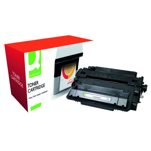 Q-Connect Compatible Solution HP 55X Black Laserjet Toner Cartridge High Capacity CE255X