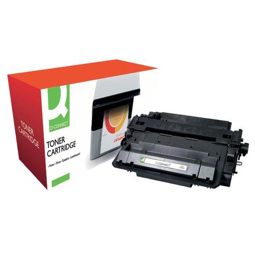 Q-Connect Compatible Solution HP 55X Black Laserjet Toner Cartridge High Capacity CE255X