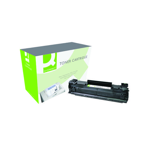 Q-Connect Compatible Solution HP 85A Black Laserjet Toner Cartridge CE285A