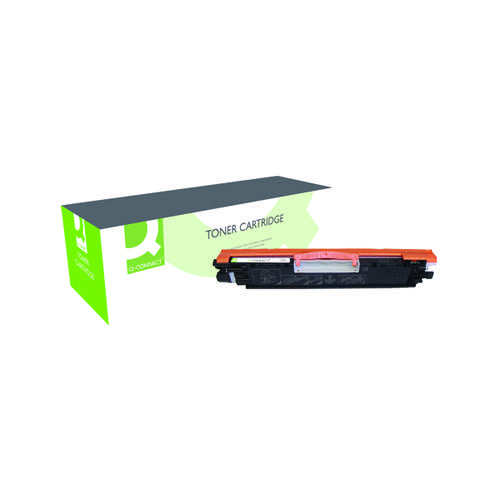 Q-Connect Compatible Solution HP 126A Black Laserjet Toner Cartridge CE310A