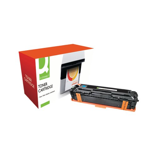 Q-Connect Compatible Solution HP 128A Cyan Laserjet Toner Cartridge CE321A