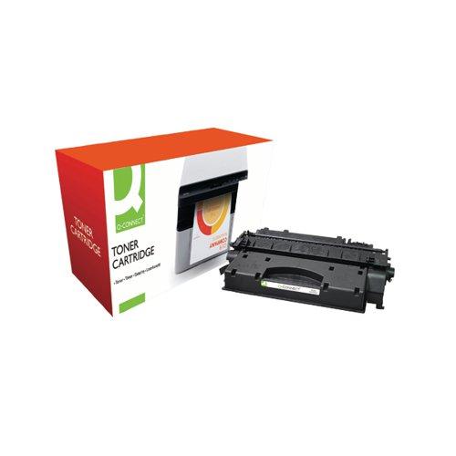 Q-Connect Compatible Solution HP 05X Black Laserjet Toner Cartridge High Capacity CE505X