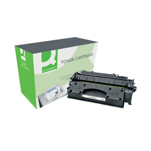Q-Connect Compatible Solution HP 80X Black Laserjet Toner Cartridge High Capacity CF280X