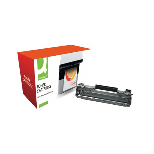 Q-Connect Compatible Solution HP 83X HY Black Toner Cartridge CF283X