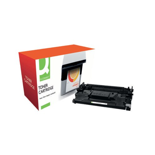 Q-Connect Compatible Solution HP Jet Intelligence CF287A Black Toner Cartridge 87AVAS