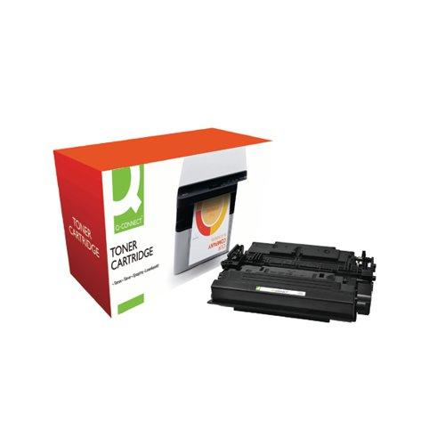 Q-Connect Compatible Solution HP 87X Toner Cartridge Black HY CF287X