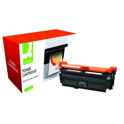 Q-Connect HP 652A Remanufactured Black Toner Cartridge CF320A