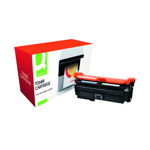 Q-Connect HP 653A Remanufactured Cyan Toner Cartridge CF321A