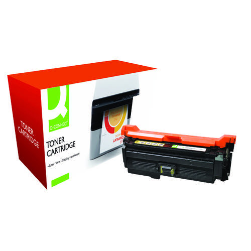 Q-Connect HP 653A Remanufactured Yellow Toner Cartridge CF322A