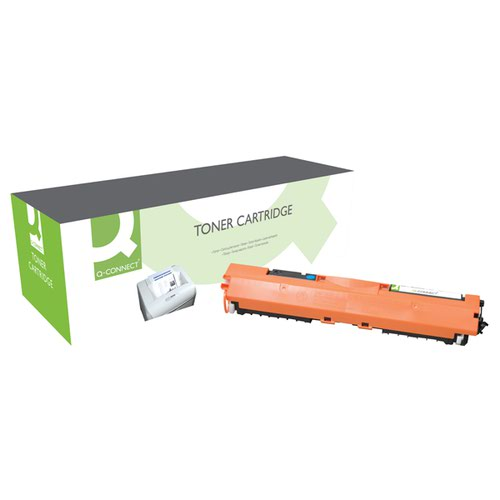 Q-Connect Compatible Solution HP 130A Cyan Toner Cartridge CF351A