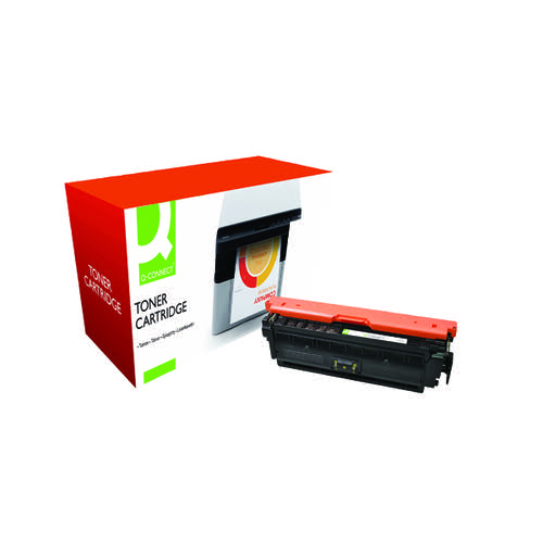 Q-Connect Compatible Solution HP 508A Yellow Toner Cartridge CF362A