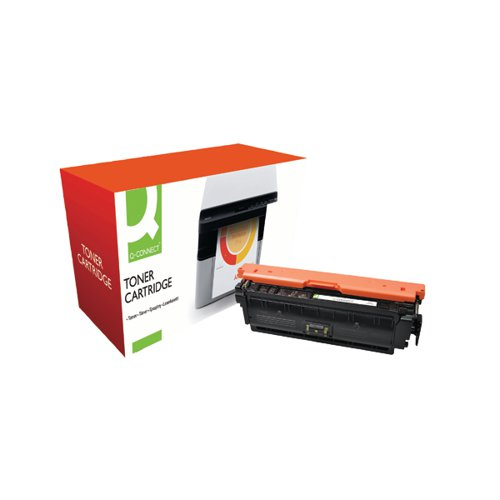 Q-Connect Compatible Solution HP M552/M553 LaserJet Toner Cartridge High Yield Yellow CF362X