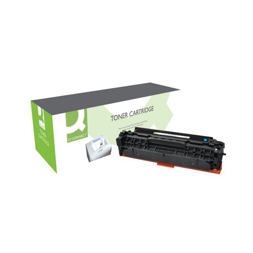 Q-Connect Compatible Solution HP 312A Cyan Toner Cartridge CF381A