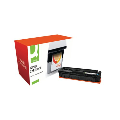 Q-Connect Compatible Solution HP Jet Intelligence CF401A Cyan Toner Cartridge M252ACVAS