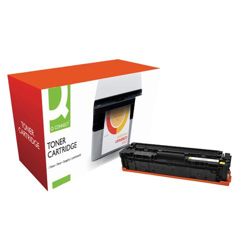 Q-Connect Compatible Solution HP Jet Intelligence CF402X Yellow Toner Cartridge M252YVAS