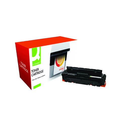 Q-Connect Compatible Solution HP CF410X M452 Laser Toner Cartridge High Yield Black CF410X