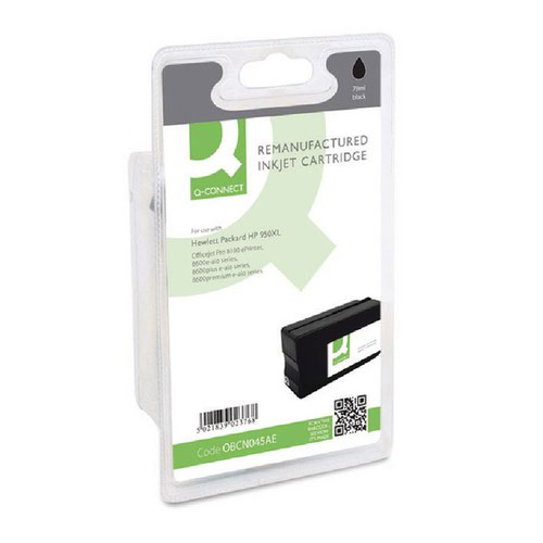 Q-Connect HP 950XL Remanufactured Black Inkjet Cartridge High Yield CN045AE
