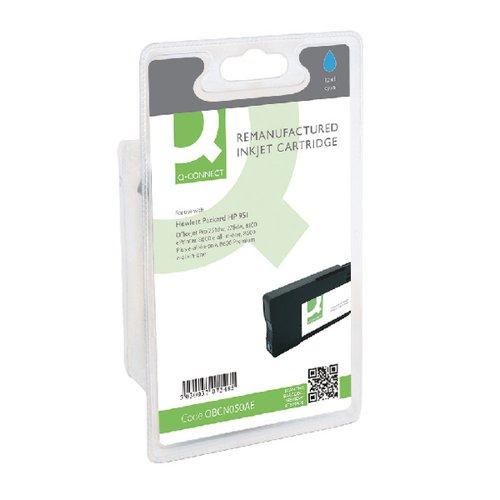 Q-Connect HP 951 CN050AE Ink Cyan Cartridge CN050AE-COMP