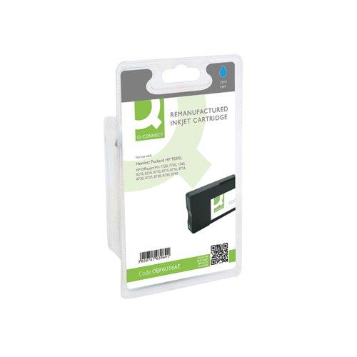 Q-Connect HP 953XL F6U16AE Ink Cartridge Cyan HY F6U16AE-COMP