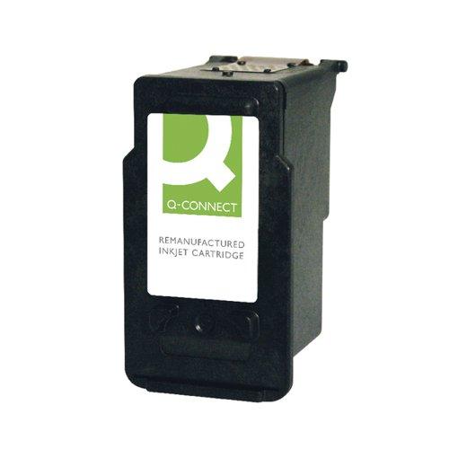 Q-Connect HP 302XL Black Ink Cartridge F6U68AE-COMP Inkjet Cartridges OBF6U68AE