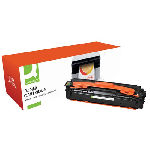 Q-Connect Remanufactured Samsung K504 Black Toner Cartridge CLT-K504S/ELS
