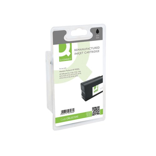 Q-Connect HP 953XL LOS70AE Ink Cartridge Black HY LOS70AE-COMP