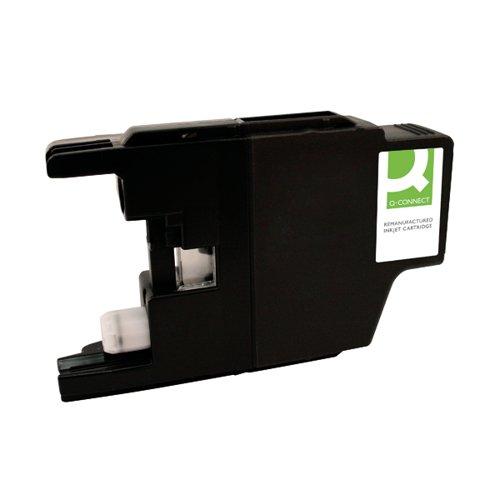 Q-Connect Brother LC3219XLC Inkjet Cartridge Cyan HY LC3219XLC-COMP