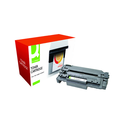 Q-Connect Compatible Solution HP 11A Black Laserjet Toner Cartridge Q6511A