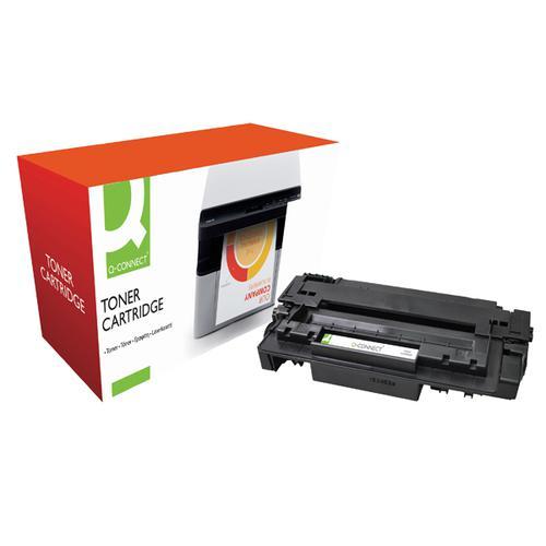 Q-Connect Compatible Solution HP 51A Black Laserjet Toner Cartridge Q7551A