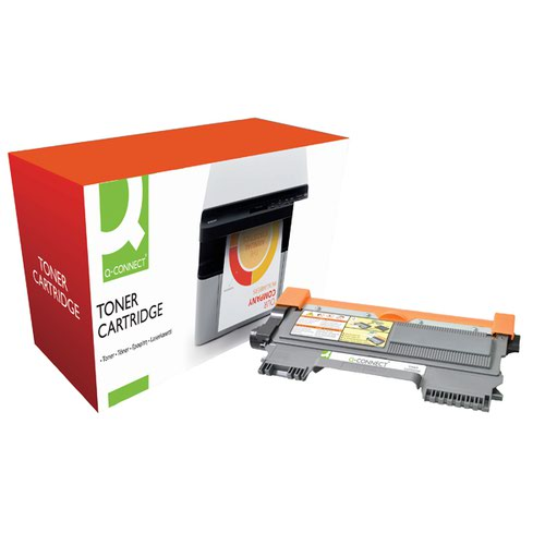 Q-Connect Compatible Solution Brother Black Toner Cartridge TN2010