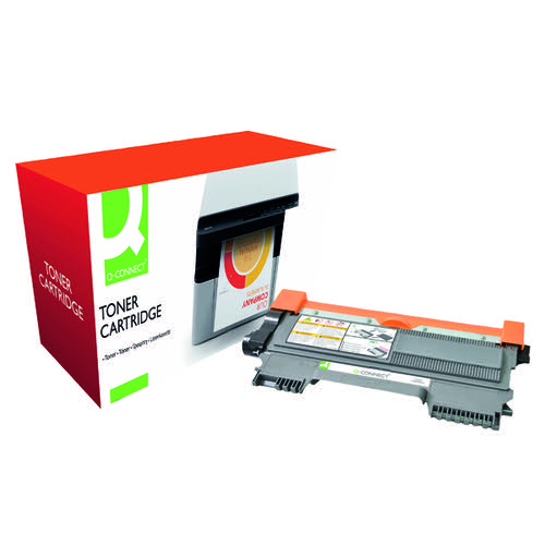 Q-Connect Compatible Solution Brother Black Toner Cartridge TN2210