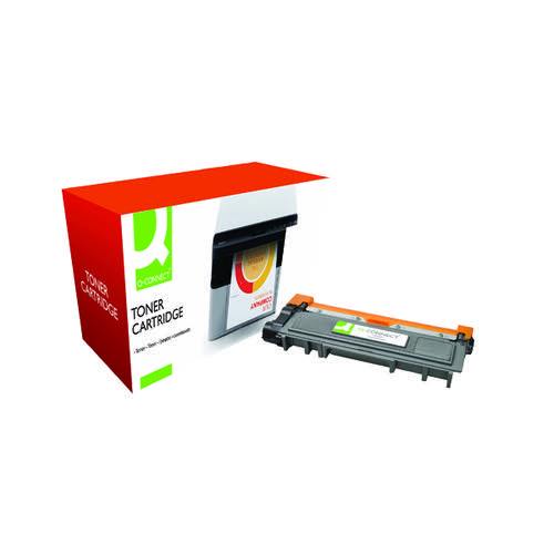 Q-Connect Compatible Solution Brother HY Black Toner Cartridge TN2320