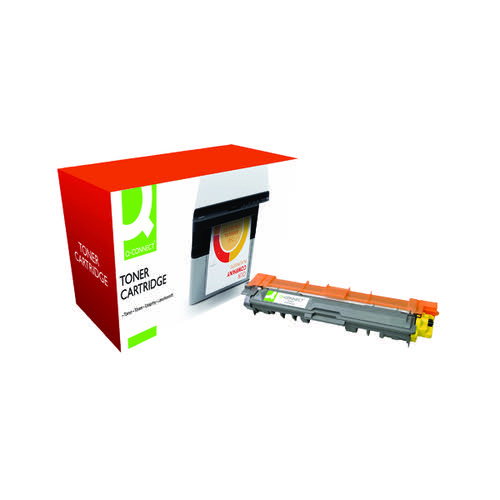Q-Connect Compatible Solution Brother TN241Y Yellow Toner Cartridge