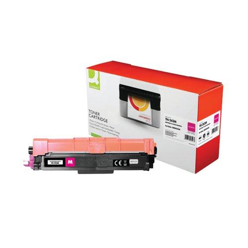 Q-Connect Brother TN-243M Toner Cartridge Magenta TN-243M-COMP