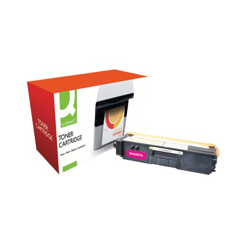 Q-Connect Brother Remanufactured Magenta Toner Cartridge High Capacity TN325M