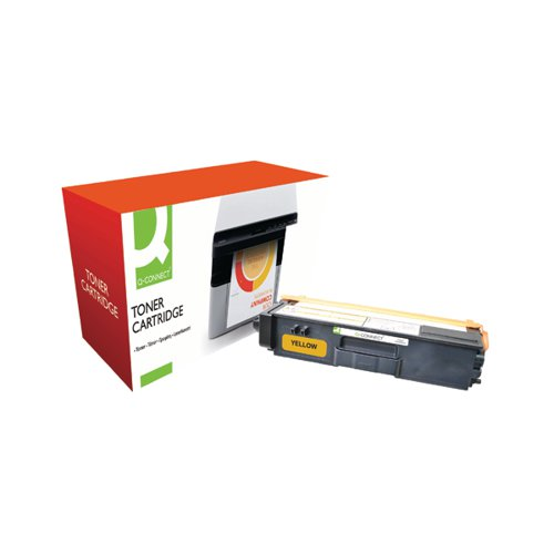 Q-Connect Brother Remanufactured Yellow Toner Cartridge High Capacity TN325Y