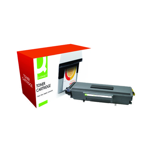 Q-Connect Compatible Solution Brother Black Toner Cartridge TN3280