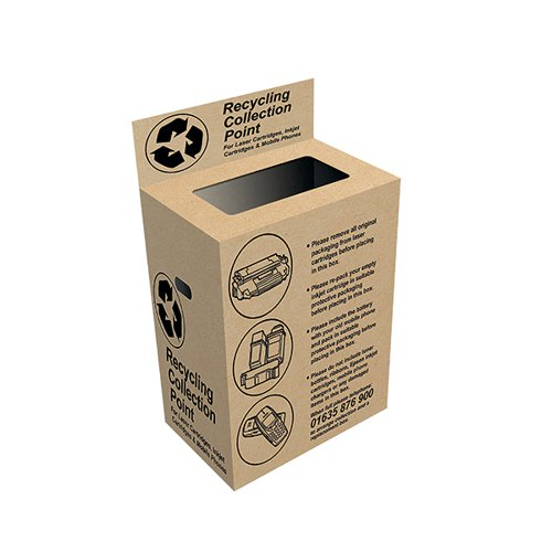VOW Q-Connect Toner and Inkjet Recycling Box RECBOX