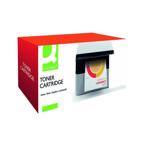 Q-Connect Compatible HP415X Cyan High Yield Toner Cartridge W2031X-COMP