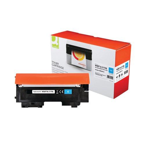 Q-Connect HP W2071A Toner Cartridge Cyan W2071A-COMP