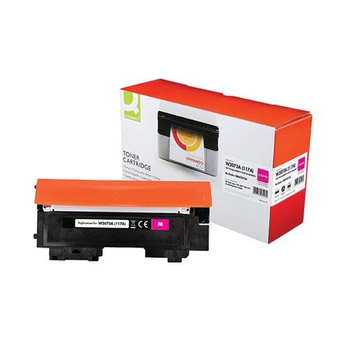Q-Connect HP W2073A Toner Cartridge Magenta W2073A-COMP