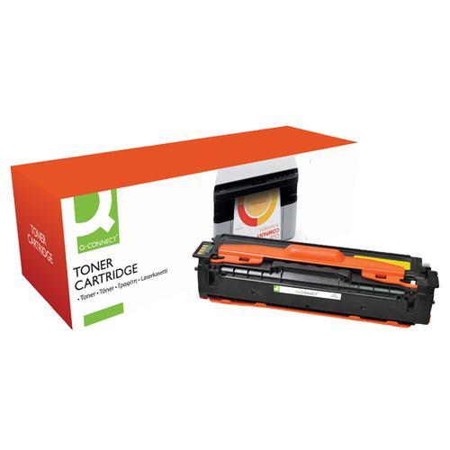 Q-Connect Samsung CLT-Y504S Yellow Toner Cartridge CLT-Y504S-COMP PL