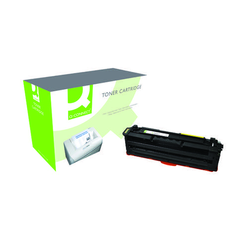 Q-Connect Samsung Y506L Remanufactured Yellow Toner Cartridge High Capacity CLT-Y506L/ELS