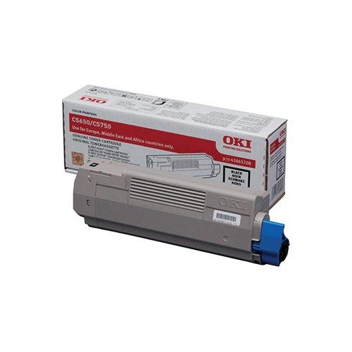 Oki Black Toner Cartridge (8 000 Page Capacity) 43865708