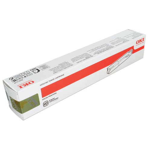 Oki Black Toner Cartridge High Capacity (Capacity: 2500 pages) 43459332