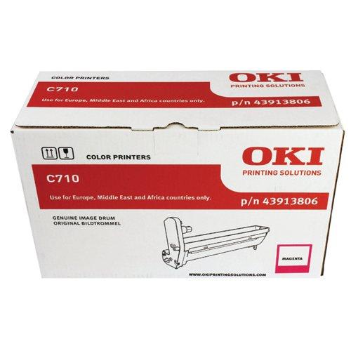 Oki C710 Magenta Image Drum (15000 Page Capacity) 43913806