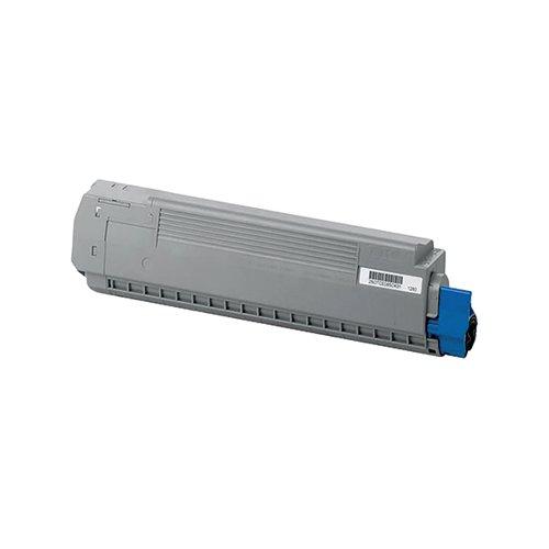 Oki Cyan Toner Cartridge (10 000 Page Capacity) 44059211
