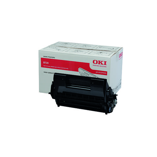 Oki Black Toner Cartridge High Capacity (Capacity: 20000 pages) 01279101